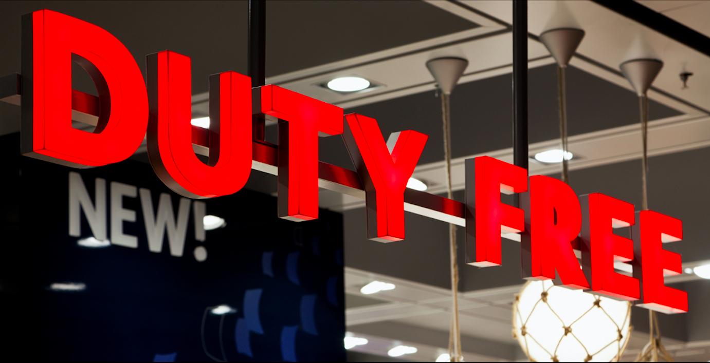 duty free barato