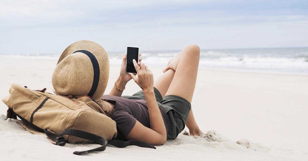 desconectar en vacaciones